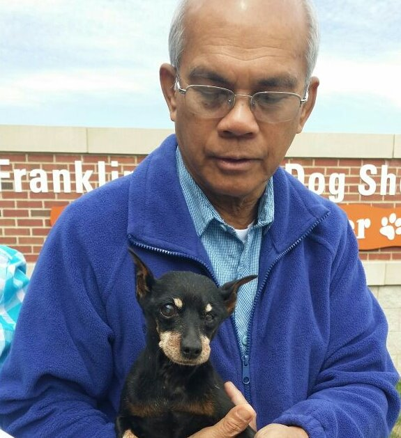 Cury reunited thanks to Pet FBI & Franklin County Dog Shelter