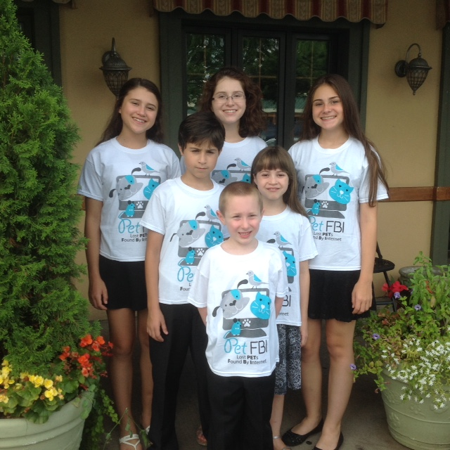 Pet FBI t-shirts for kids